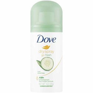 Dove Dry Spray Go Fresh Antiperspirant Deodorant Cool Essentials 1oz, pack of 1