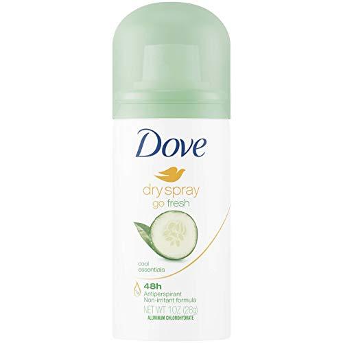 Dove Dry Spray Go Fresh Antiperspirant Deodorant Cool Essentials 1oz, pack of 1