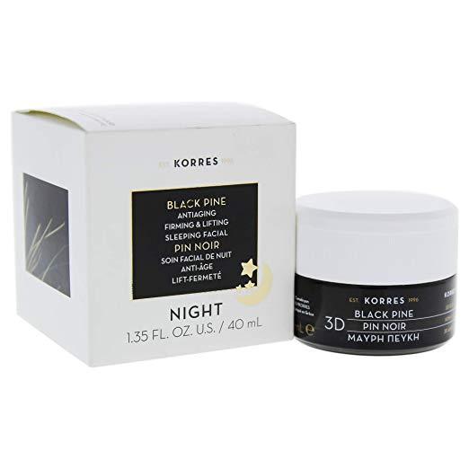KORRES 3D Black Pine Sleeping Facial, 1 fl. oz.