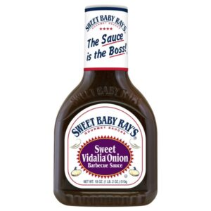 Sweet Baby Ray's Barbecue Sauce, Sweet Vidalia Onion, 18-Ounce (Pack of 2)