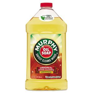Murphy Oil Soap Original Wood Cleaner, Liquid, 32oz, 9/Carton