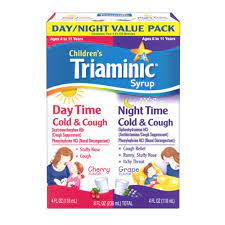 Triaminic Daytime/Nighttime Cold & Cough Combo Pack-Cherry/Grape, 8 oz