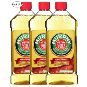 Murphy Oil Soap, Liquid Wood Cleaner, 475 Milliliter (Pack of 3)