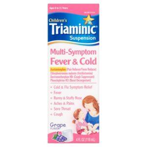 Triaminic Fever/Cold Mult Size 4z Triaminic Fever/Cold Multi Sympton 4z