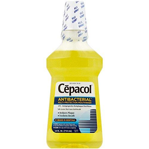 Cepacol Numbing Mouthwash, 24 Ounces each (Value Pack of 2)
