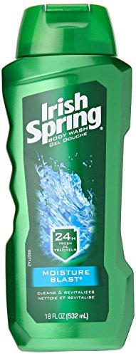 Irish Spring Body Wash, Moisture Blast, 18 fluid ounce