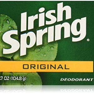 Irish Spring Original Deodrant Soap Unisex Soap, 3.75 Oz Bars, 8-Count