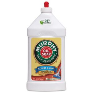 Murphy Oil Soap Squirt and Mop Floor Cleaner, 32 oz Bottle - Includes 12 32-oz bottles.
