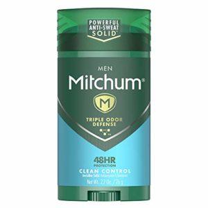 Mitchum Men Stick Solid Antiperspirant Deodorant, for Men, 2.7oz.