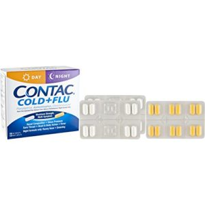 Contac® Cold+Flu Day/Night Combo, 28 Count