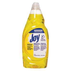 Procter & Gamble 608-45114 Joy Dishwashing Liquid, Lemon Scent, 38 fl. oz. Bottle (Pack of 8)