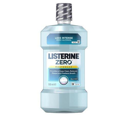 Listerine Zero Mouthwash Mild Mint (500ml)