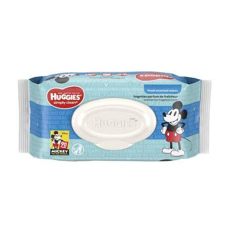 Huggies Simply Clean Baby Wipes (Pack of 4)