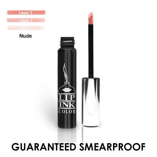 LIP INK Organic Vegan 100% Smearproof Liquid Lipstick - Nude