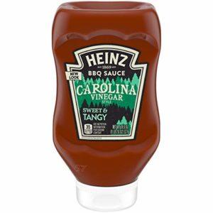 Heinz Carolina Mustard style Barbeque Sauce (18.7 oz Bottles, Pack of 6)