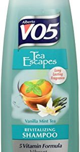 Alberto VO5 Tea Therapy Vanilla Mint Tea Shampoo for Unisex, 12.5 Ounce