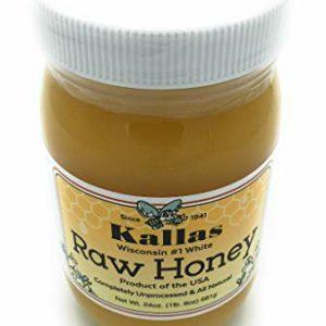 KALLAS Raw Honey, 24 OZ
