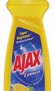 Ajax Dish Liquid, Lemon, 16 Ounce (Pack of 6)