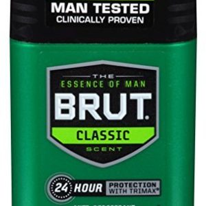 Brut Deodorant 2oz Oval Solid Classic Scent(Anti-Perspirant) by Brut