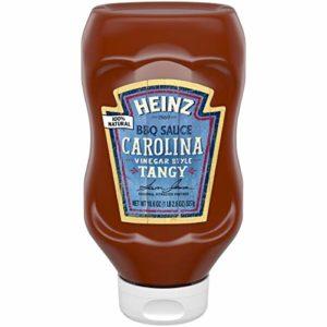 Heinz Carolina Vinegar Style Tangy BBQ Sauce, 18.6 oz Bottle