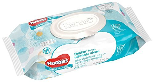Huggies One & Done Refreshing Baby Wipes Soft Pack - 56ct (Pack of 8)