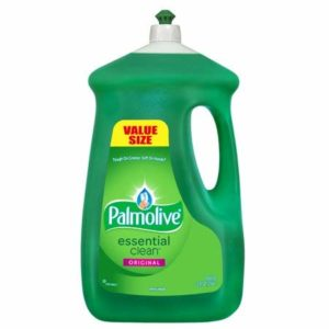 Palmolive Dishwashing Liquid, Original Scent, Green, 90 ounce Bottle