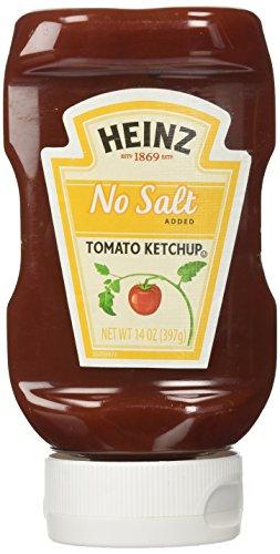 Heinz No Salt Added Tomato Ketchup, 14 Ounces