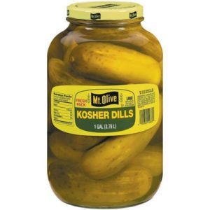 Mt. Olive - Kosher Dill Pickles - 128-Fl. Oz. (1 Gallon) Jar by Mt. Olive