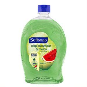 Softsoap Liquid Hand Soap Refill, Crisp Cucumber and Melon, 56 Ounce