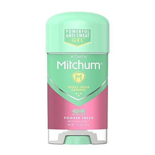 Lady Mitchum Women Gel Antiperspirant Deodorant, Powder Fresh, 2.25oz.