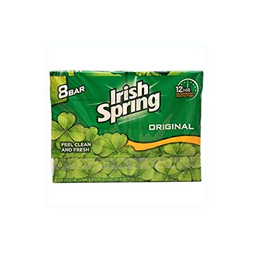 Irish Spring Deodorant Soap Original - 8 Ct