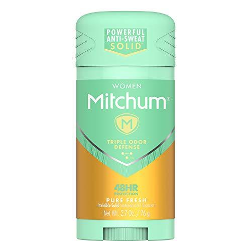 Mitchum Women Stick Solid Antiperspirant Deodorant, Pure Fresh, 2.7oz.