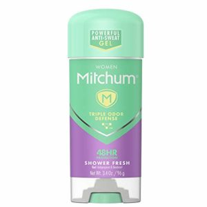 Mitchum Women Gel Antiperspirant Deodorant, Shower Fresh, 3.4oz.