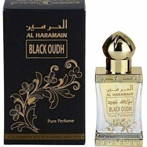 Haramain Black Oudh for Men and Women (Unisex) CPO - Concentrated Perfume Oil (Attar) 15 ML (0.51 oz)