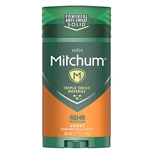 Mitchum Men Stick Solid Antiperspirant Deodorant Twin Pack, Sport, 2.7oz.