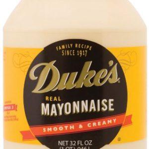 Duke's Mayonnaise, 32-Ounce Jars (Pack of 4)