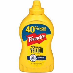 French's Classic Yellow Mustard, 20 oz (Pack of 2)