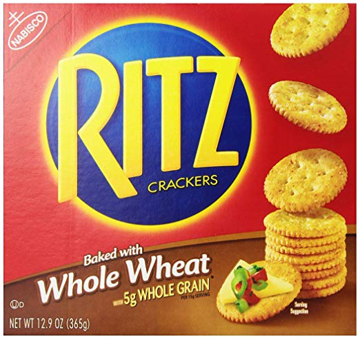 Ritz Whole Wheat Crackers, 12.9 Ounce