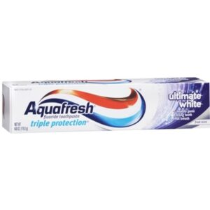 Aquafresh Ultimate White Toothpaste, Frost Mint, 6-Ounce (Pack of 6)