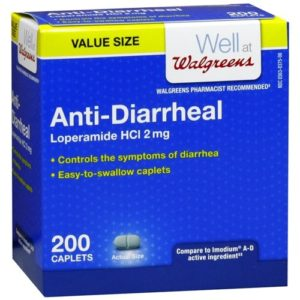 Walgreens Anti-Diarrheal, Caplets 200 ea