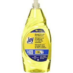 Joy Dishwashing Liquid, Lemon Scent, 38 oz Bottle (8 Pack)