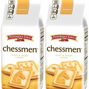 Pepperidge Farm Butter Chessmen Cookies - 7.25 oz - 2 Pack