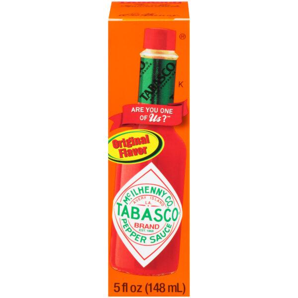 Tabasco Original Red Pepper Sauce, 2 oz