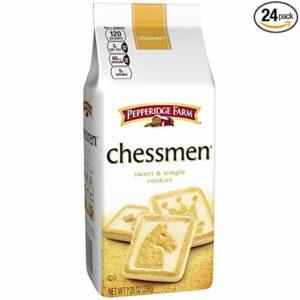 Pepperidge Farm, Chessmen, Cookies, 7.25 oz, Bag, 24-count