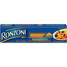 Ronzoni Spaghetti, 16-Ounce (Pack of 10)