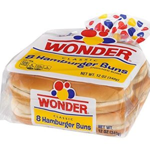 WONDER BREAD CLASSIC HAMBURGER BUNS 8 CT
