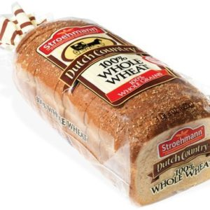Stroehmann Dutch Country 100% Whole Wheat Bread - Pack of 3