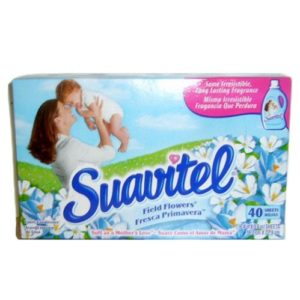 Wholesale Suavitel Dryer Sheets 40ct Field Flowers