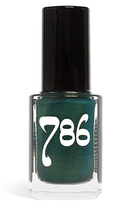 786 Cosmetics Karachi - (Blue Green Iridescent) Vegan Nail Polish, Cruelty-Free, 11-Free, Halal Nail Polish, Fast-Drying Nail Polish, Best Green Nail Polish