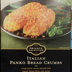 Private Selection Italian Panko Bread Crumbs 8 oz (Pack of 2)